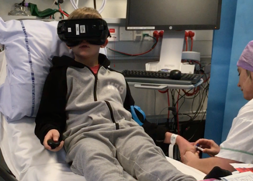 Immersive Reality for Paediatric Procedural Pain preview