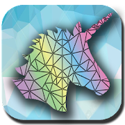 Game POLY ARTBOOK Coloring Puzzle apk for kindle fire