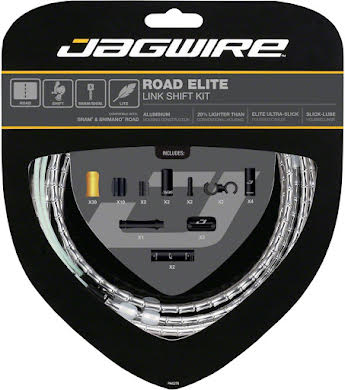 Jagwire Road Elite Link Shift Cable Kit with Ultra-Slick Uncoated Cables alternate image 8