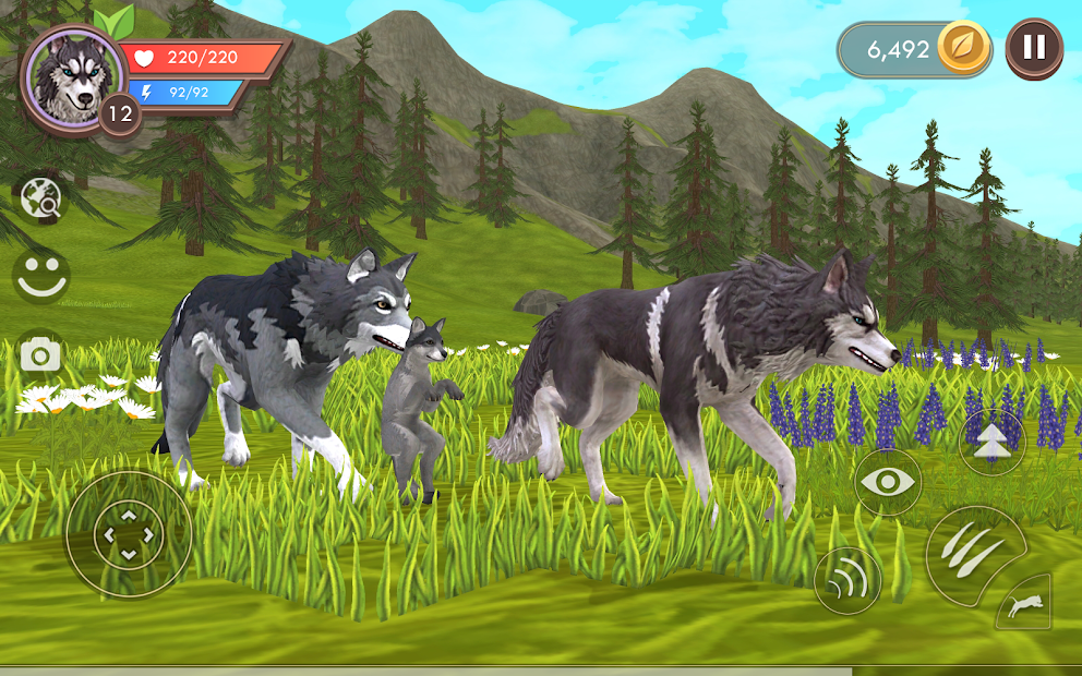 WildCraft: Animal Sim Online 3D Android App Screenshot