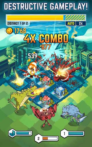 SMASH Monsters - City Rampage screenshot 3