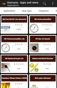 German apps and tech news- screenshot thumbnail