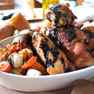 Farm-To-Table Balsamic Chicken and Vegetables