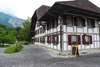 Photo: Das schöne alte Restaurant Bären auf dem Ballenberg