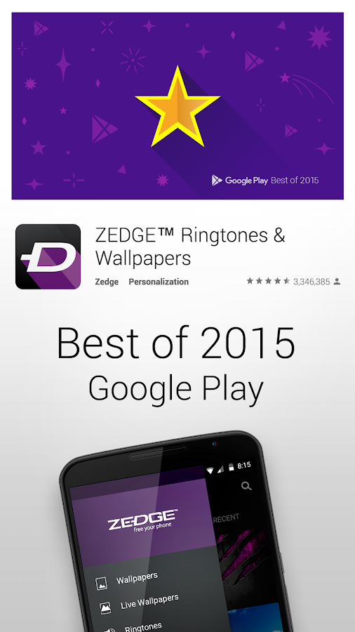 ZEDGE Ringtones & Wallpapers v5.7b3