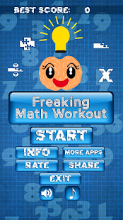 Freaking Math Workout- screenshot thumbnail