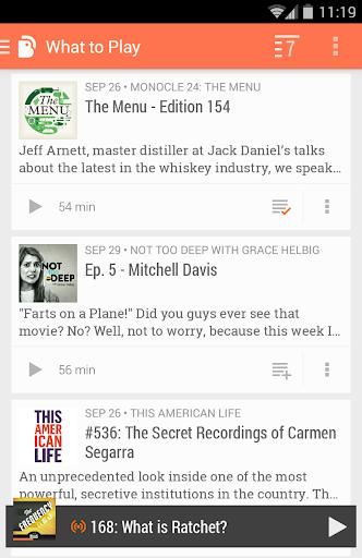 BeyondPod Podcast Manager screenshot 3