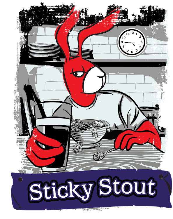 Logo of Red Hare Sticky Stout