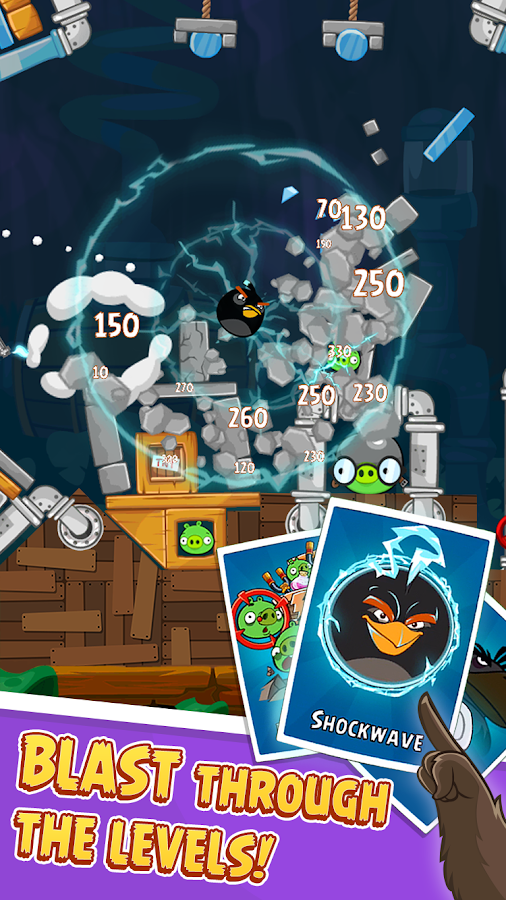 Angry Birds: screenshot