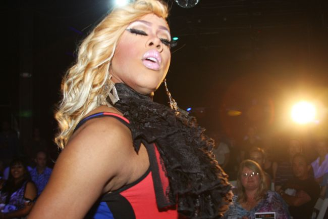 Photo: 'RuPaul's Drag Race' competitor Morgan McMichaels rocked the stage at Jungle on May 23 for the premiere of 'Fantasy Girls.' The monthly event is hosted by local drag personality Phoenix. View the full photo album here: http://projectqatlanta.com/news_articles/view/fantasy_girls_storms_the_jungle_stage_photos?gid=11083
