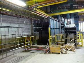 Photo: Tunnel de grenaillage projecsable ab decometal