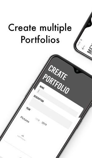 Art Portfolio: Create and download your portfolios screenshot 2