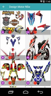 best motorsticker design - náhled