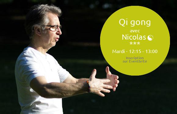cours Qi gong mardi