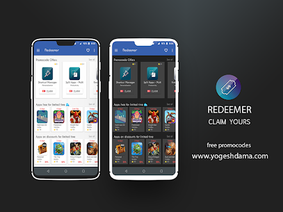 Redeemer – free promocodes & paid apps sales 1