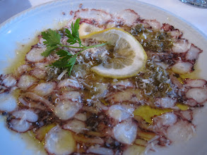 Photo: Octopus Carpaccio