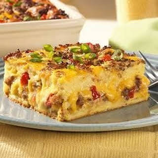 Jimmy Dean Breakfast Casserole.