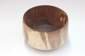 "Photo: Tim Aley - Bowl - walnut - 5"" x 3.5"""