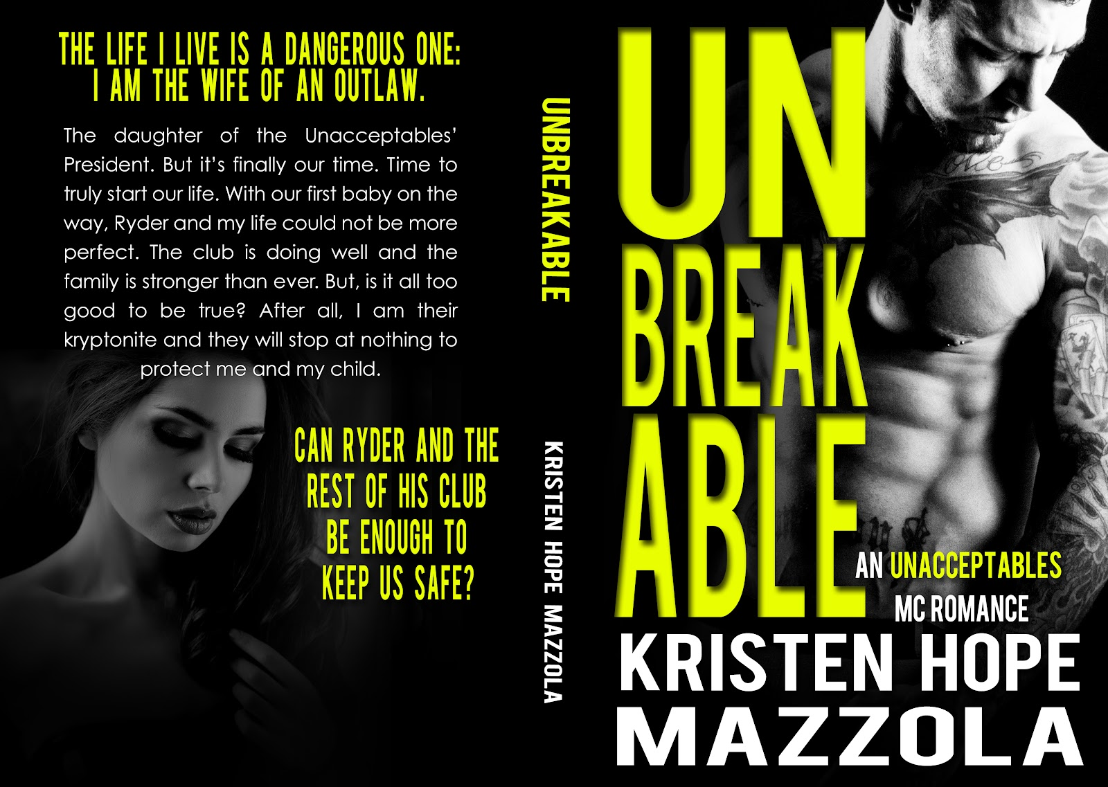 Unbreakable Mock Full Jacket 1a