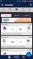 Screenshot of Arizona Wildcats Gameday