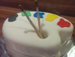 Photo: 3D Torte - Pinselpalette