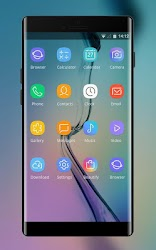 Download Theme for samsung galaxy j7 abstract wallpaper for