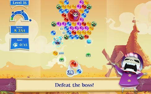 Bubble Witch 2 Saga MOD (Unlimited Lives/Boosters/Moves) 8