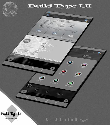 Build Type UI Kustom Pro/Klwp screenshot 6