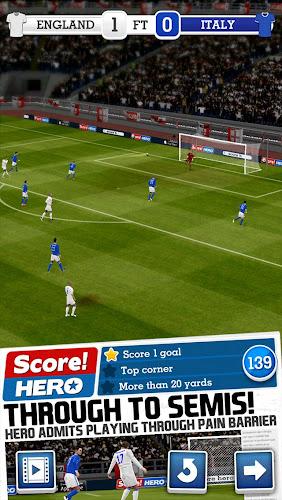Score! Hero Android App Screenshot