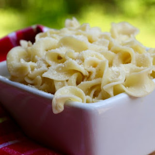 Cheesy Egg Noodles Recipes.