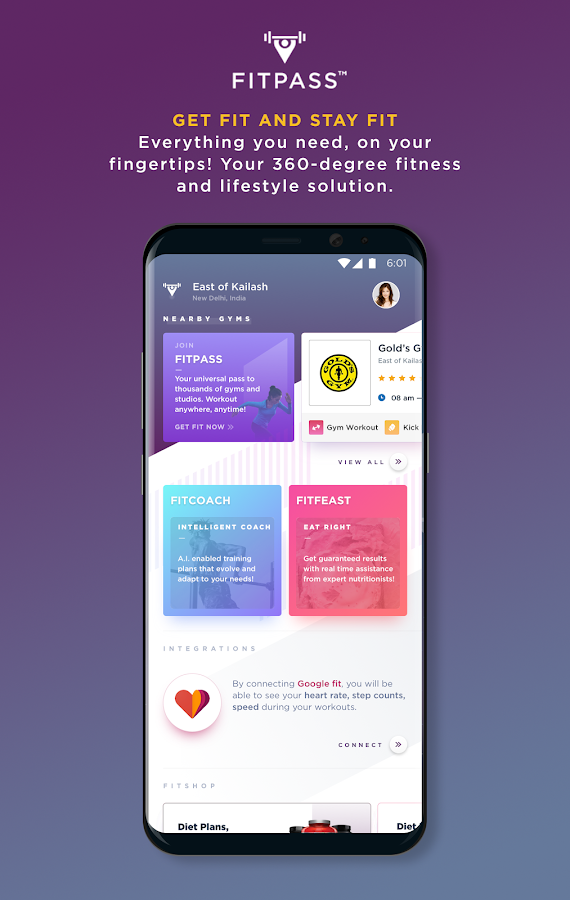 FITPASS– Gyms & Fitness Pass- screenshot