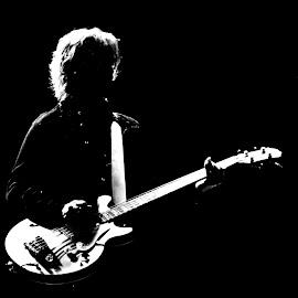 The Bassist by Keri Butcher - Black & White Portraits & People ( paul, paul mccartney, macca, sir paul, brian ray, sir paul mccartney )