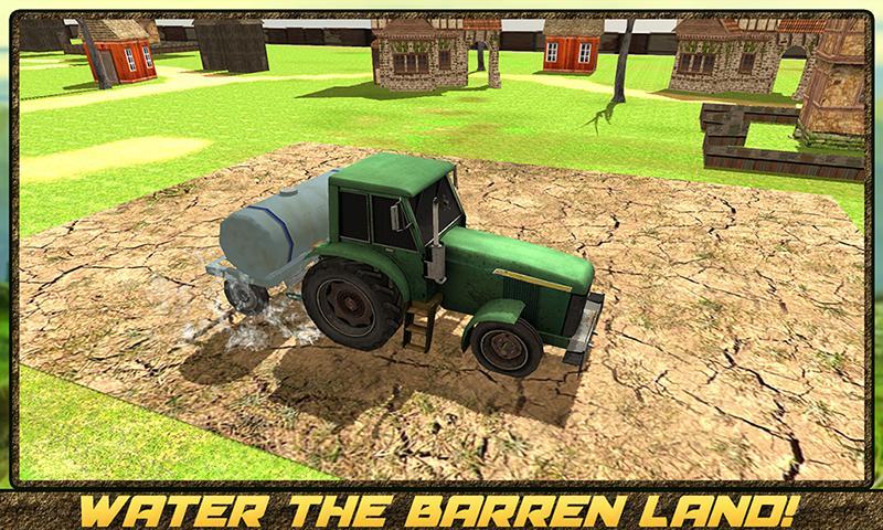 android Hay Farm Plow Truck Driver Screenshot 3