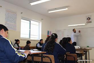Photo: Observation de cours à l'école latine à Bir Zeit