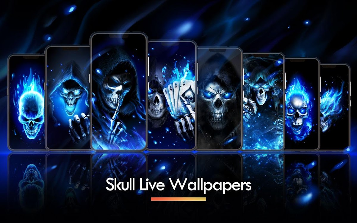 Flaming Grim Reaper Live Wallpaper Android Applications Appagg