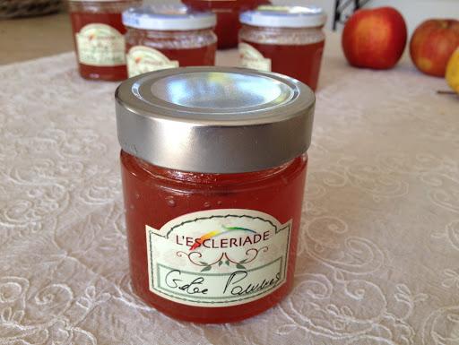 Confiture de pommes à l'Esclériade
