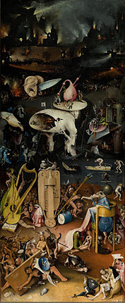 Image result for garden of earthly delights hell panel