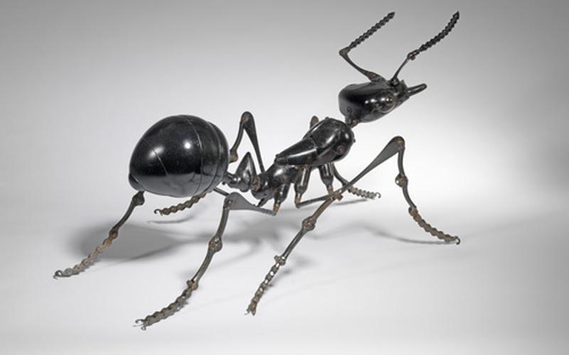 Виртуозные скульптуры животных и насекомых Эдуарда Мартине