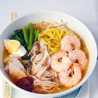Penang Hokkien Mee (Penang Prawn Noodle Soup)