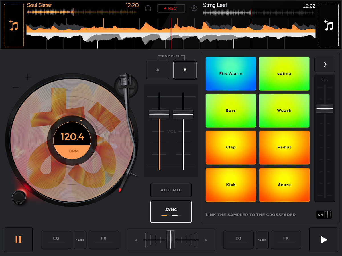 edjing Mix: DJ music mixer- screenshot