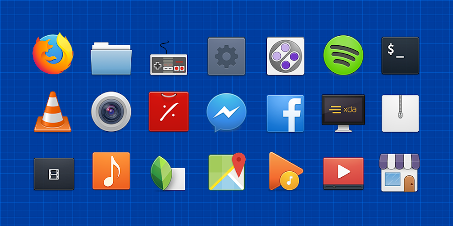 Elementary Icons v1.9.8.7 [Patched]