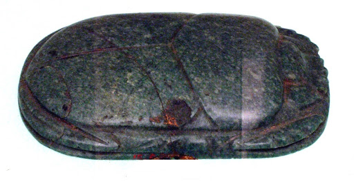 Heart Scarab with the Cartouche of Amenirdis