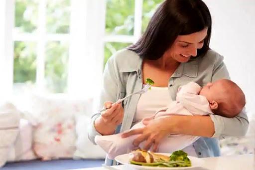 Mẹ hoàn toàn có thể giảm cân trong thời kỳ cho con bú