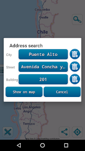 Map of Chile offline 1.5 Mod APK Updated Android 3