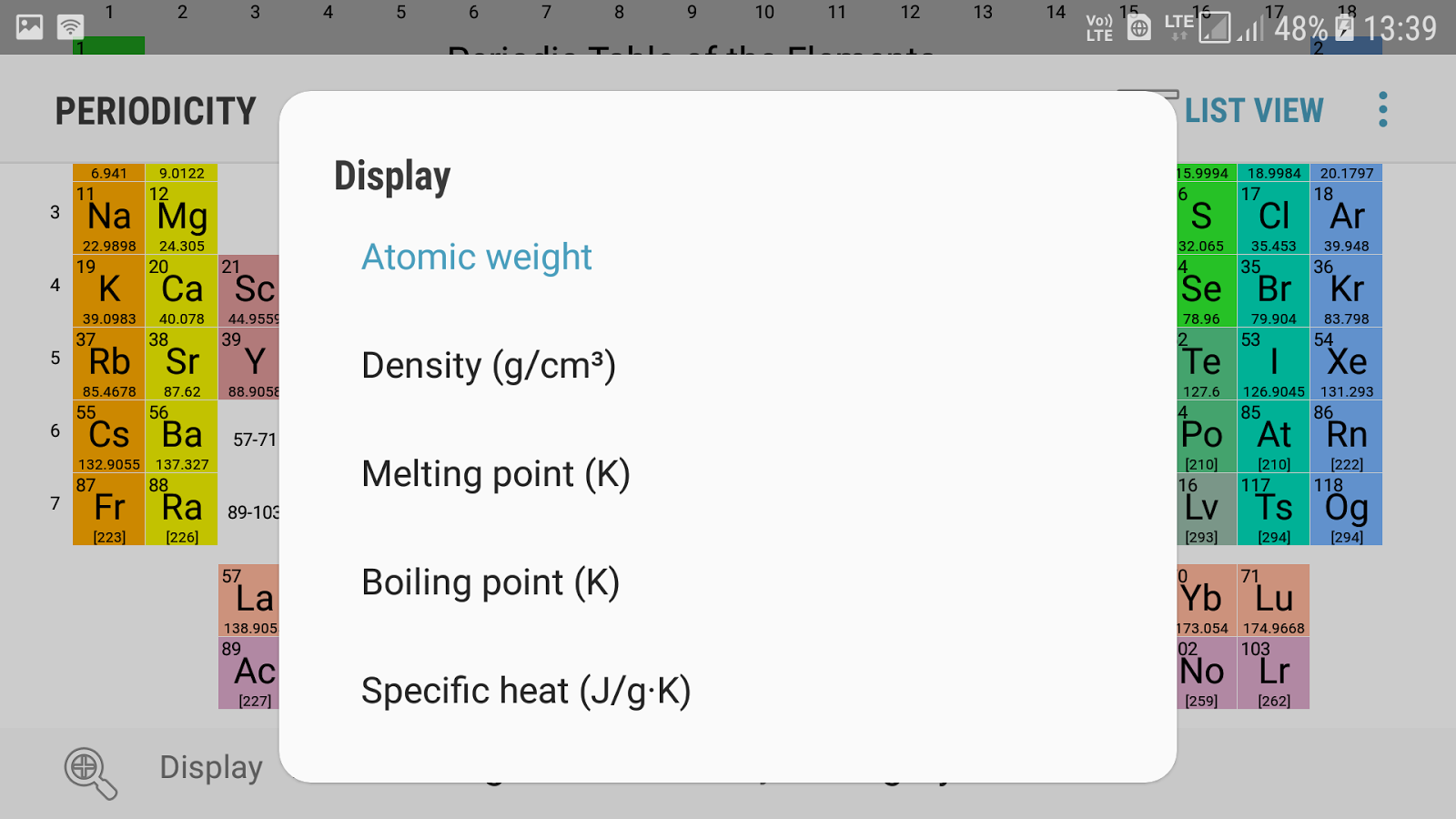 Best periodic table app android gallery periodic table and sample best periodic table app android choice image periodic table and periodicity best periodic table chemistry app urtaz Image collections
