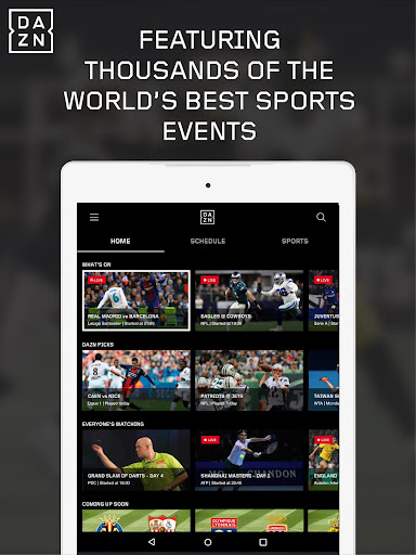 dazn android tv apk download
