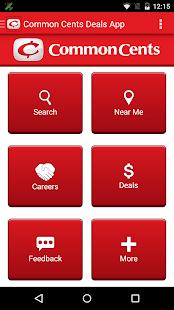 Common Cents Deals- screenshot thumbnail