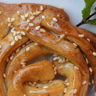 Joanna's Interpretation of Griwech - Algerian Dessert