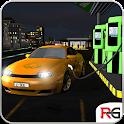 Carro elétrico táxi Simulador icon
