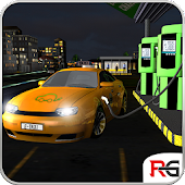 Electric Car Taxi Simulator 3D